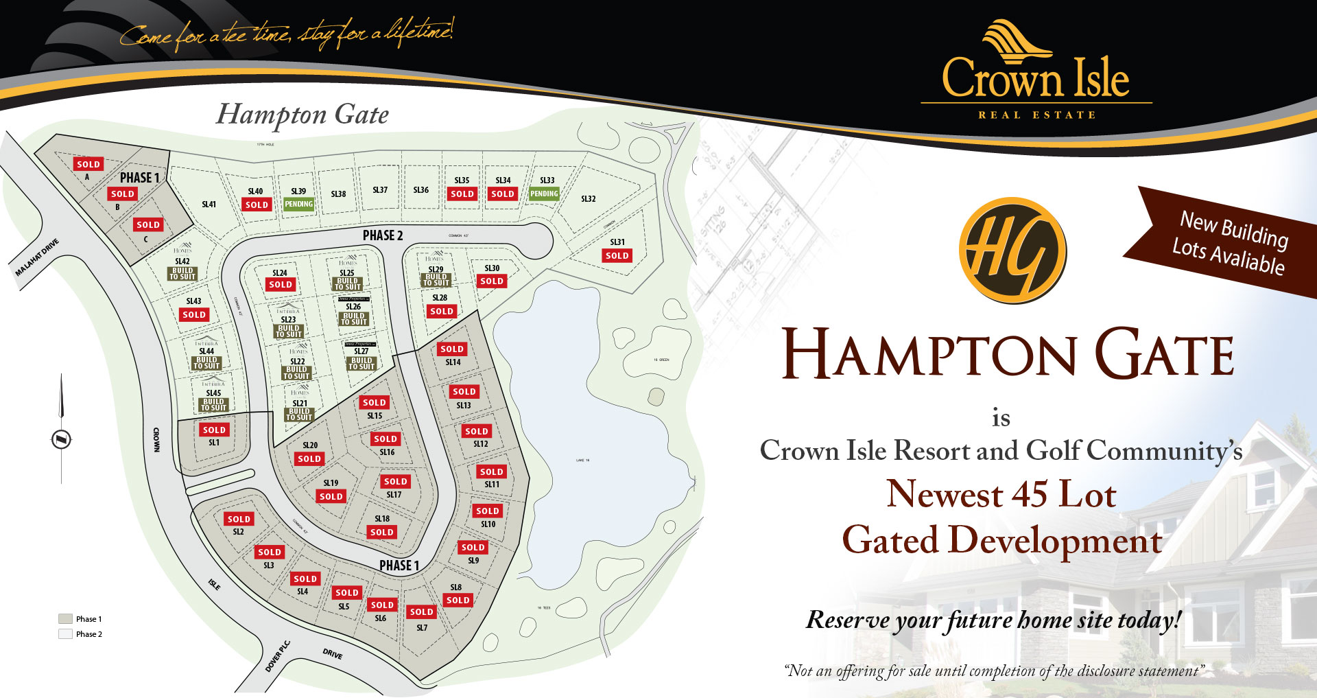 hampton gate crown isle real estate