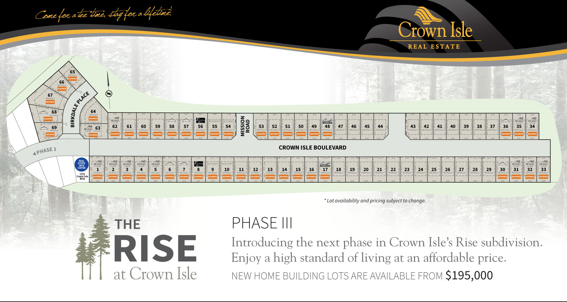 crown isle real estate